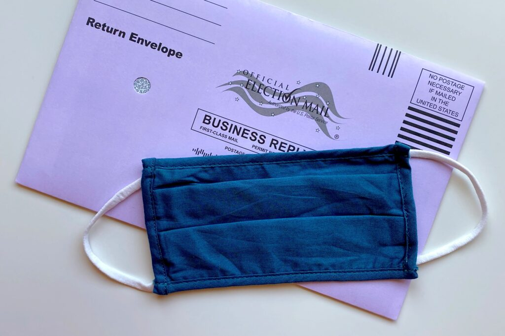 The United states mail-in ballot.