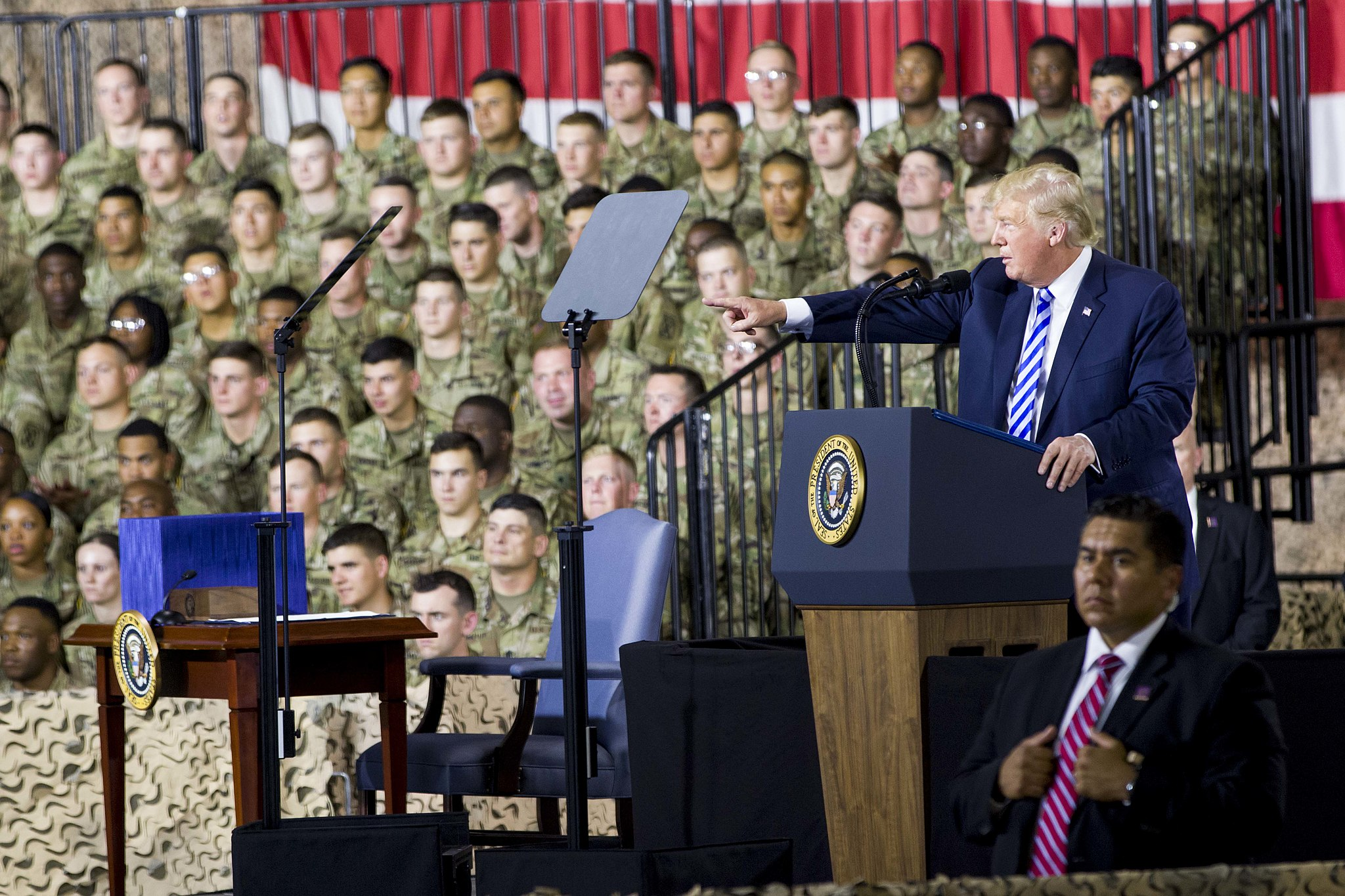 Trump And Military